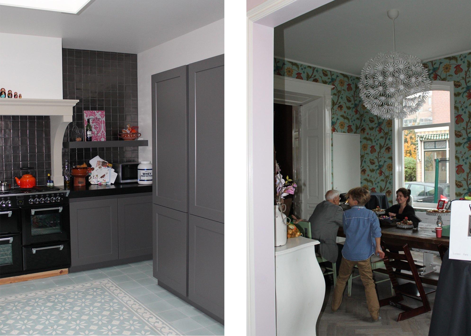 Interieur herenhuis paola paez - Keuken eetkamer ...